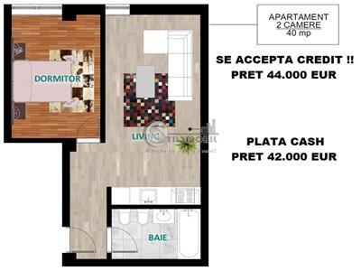 Apartament 2 camere Tip A