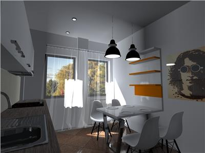 Apartament 2 camere copou 53mp