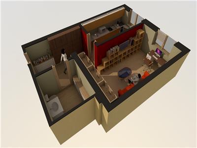 Apartament decomandat 1 camera