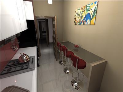 Apartament 2 camere Oancea, bloc nou