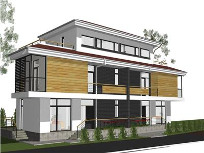 Vila duplex , 4-5camere, 2 etaje, terase, Bucium