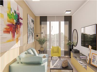 Apartament 1 camera , 49mp Bucium bloc nou