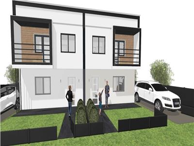 Vila duplex model cubic in zona Visan