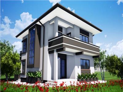 Vila Individuala Proiect Modern