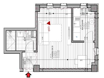 Apartament o camere Granit - 32.200Euro