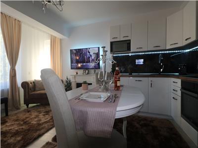 Apartament 3 camere lux mobilat  ,Pd Ros 1km
