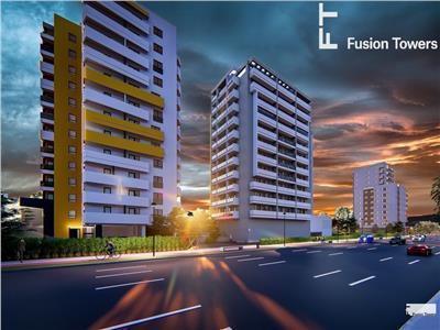 Apartament 2 camere decomandat  FUSION TOWERS