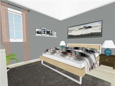 Apartament 2 camere , Moara de Vant , 53.9mp utili +4.85 mp balcon