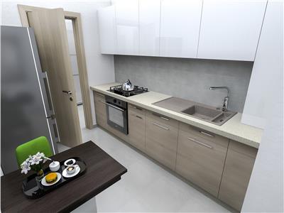 Apartament cu 2 camere bloc nou, 65mp, COPOU