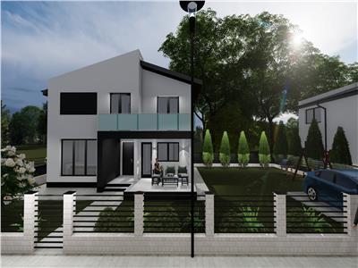 Vila design modern 4 camere Rediu