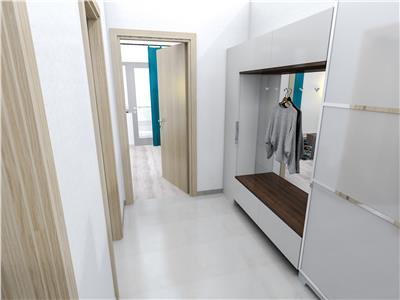 Apartament cu 2 camere decomandat, 51mp, Pacurari, bloc nou, 52900 eur