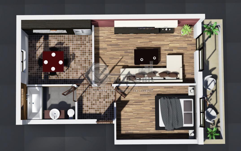 Vanzare Apartament 2 camere Decomandat Nicolina