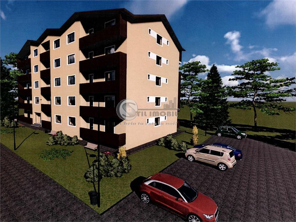 De vanzare, apartament 3 camere, bloc nou, Pacurari