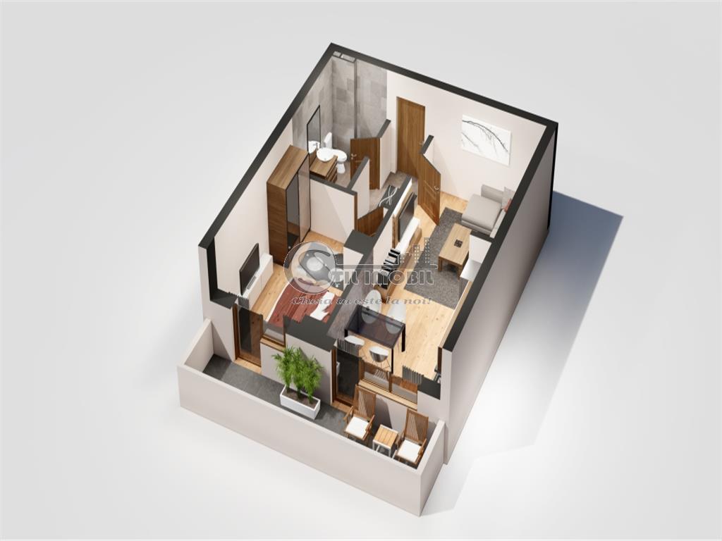 Apartament 2 camere FINALIZAT, MUTARE IMEDIATA