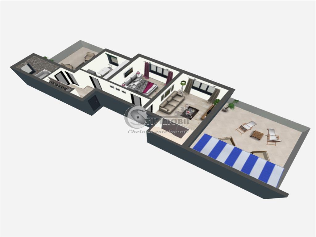 Promo: Apartament cu 2 camera, Bucium, 111.60 mp utili, Bellaria