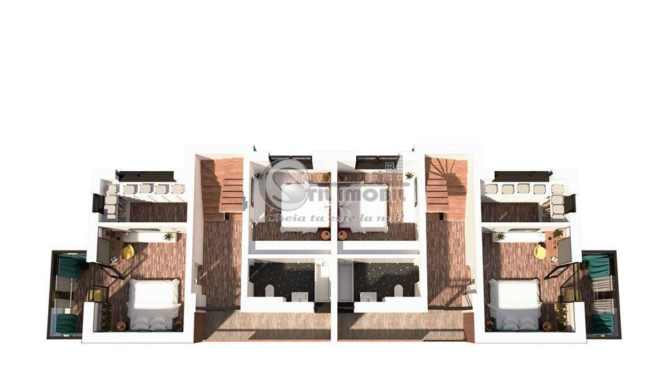 Casa tip duplex, Sos.Bucium, Hanul Trei Sarmale, 4 camere