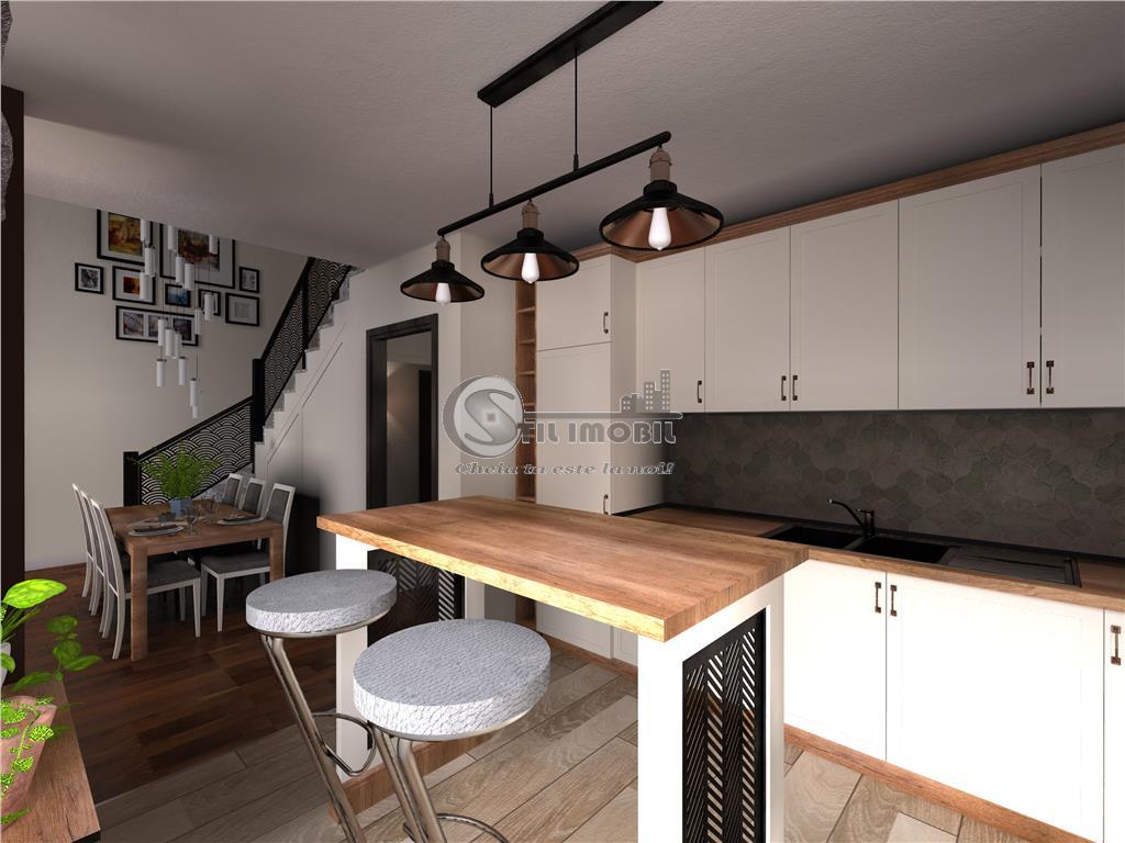 Casa 4 camere, tip duplex, 130mp, V Adanca nou