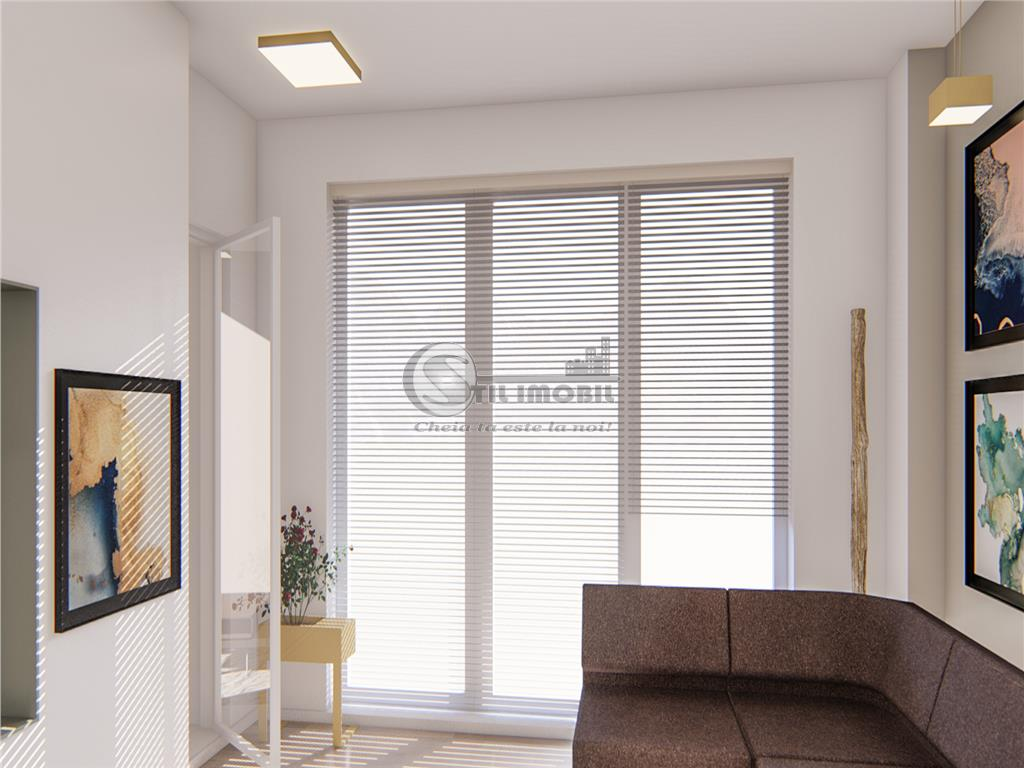 Apartament 1 camera ,Bucium bloc nou