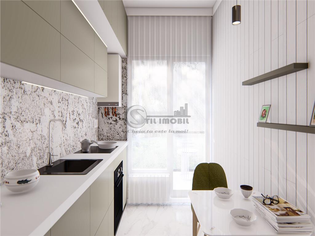 Apartament 3 camere , Bucium ,bloc nou