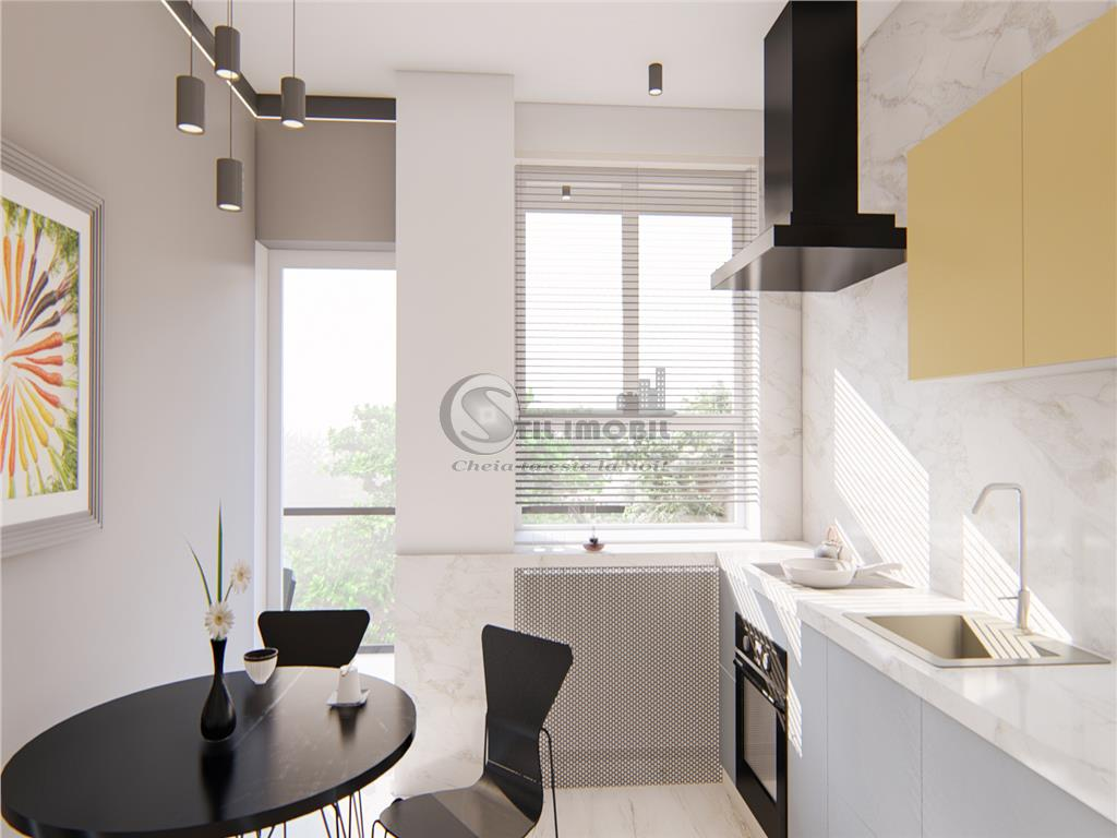 Apartament 1 camere , 44mp Bucium bloc nou