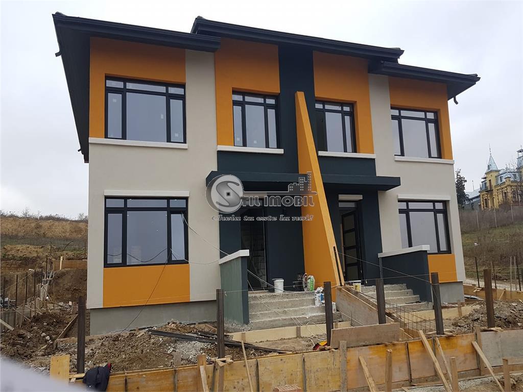 Vila duplex 100mp, 4 camere , P+1, Bucium Visani
