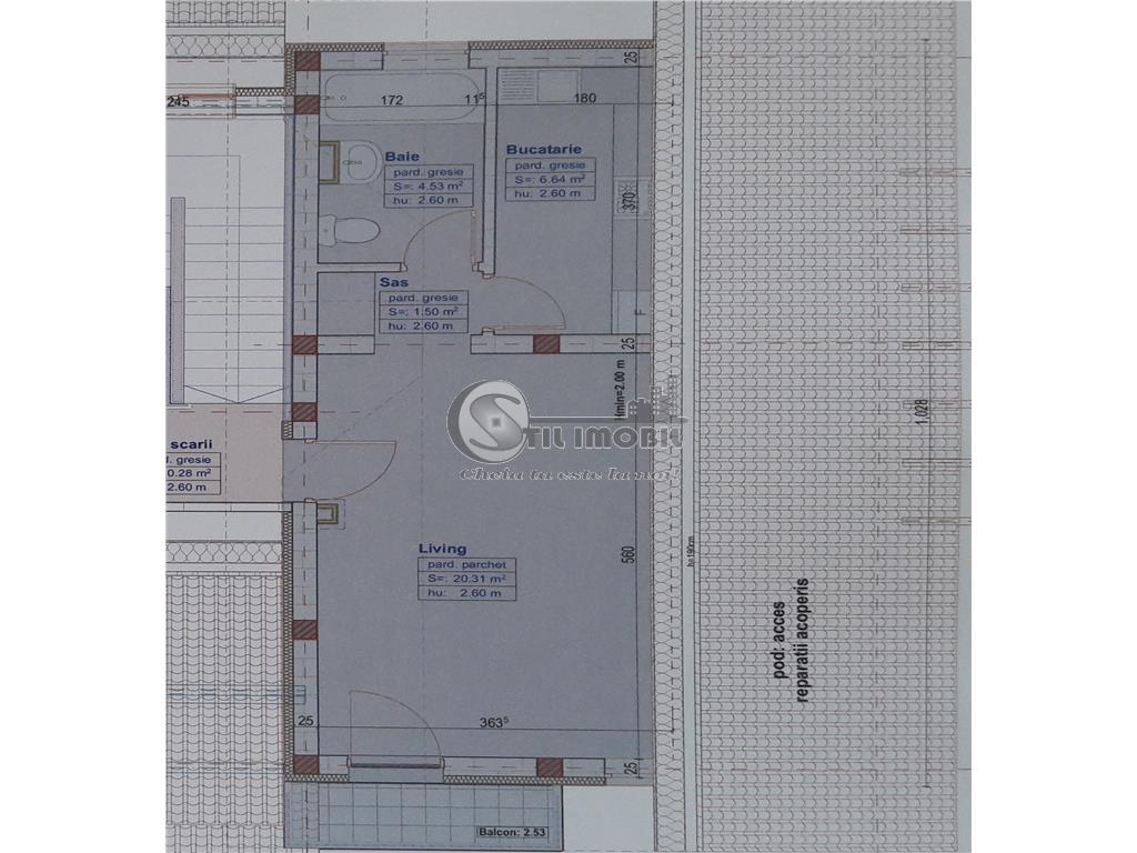 PACURARI APARTAMENT O CAMERA 42MP 61000 EURO