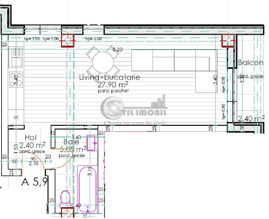 Apartament cu 1 camera, etajul 1/2,  Pacurari - kaufland