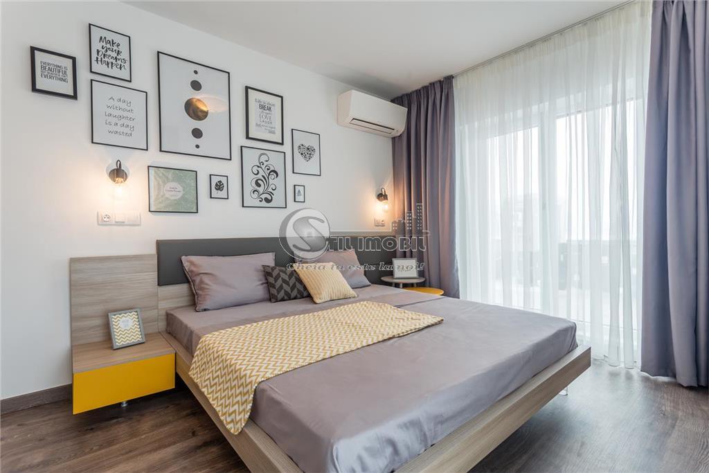 Apartament cu 1 camera, etajul 3, cu vedere, Rediu, Rond Pacurari