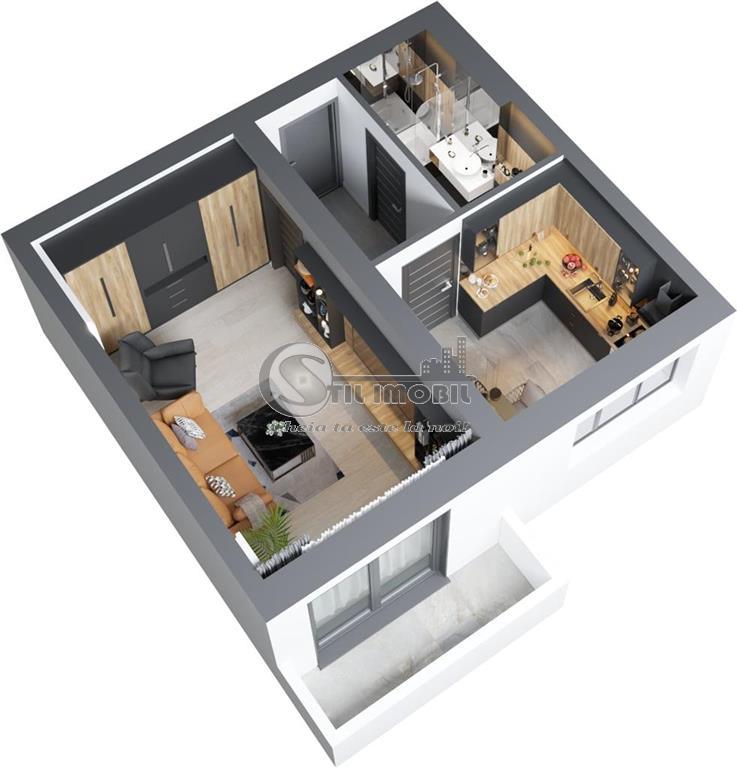 Ideal investitie 1 camera ,bloc nou Bucium Poitiers