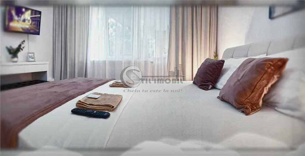 2 camere, Tudor Iulius Mall , lux mobilat si utilat , liber