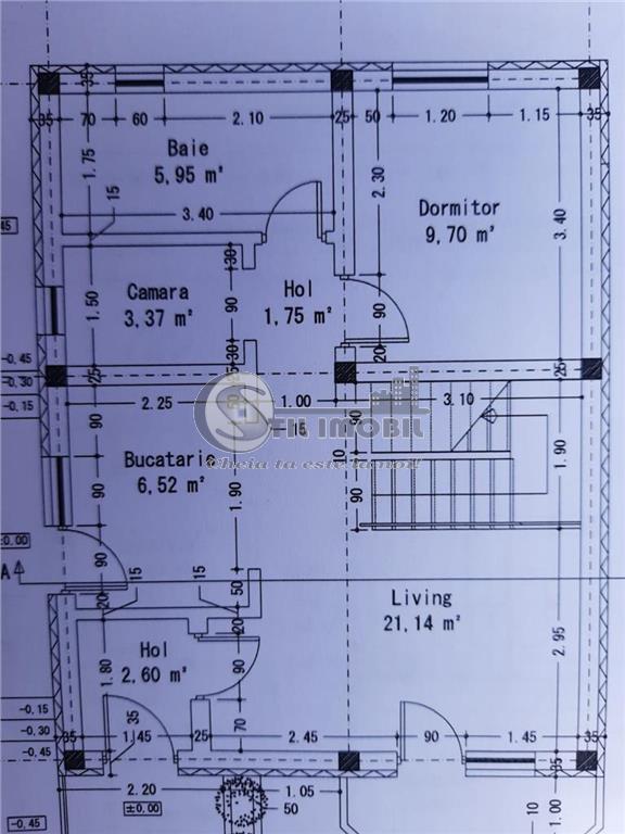 CASA 5 CAMERE 2 BAI P+M 360 MP TEREN BARNOVA-PIETRARIE 47.000 EURO