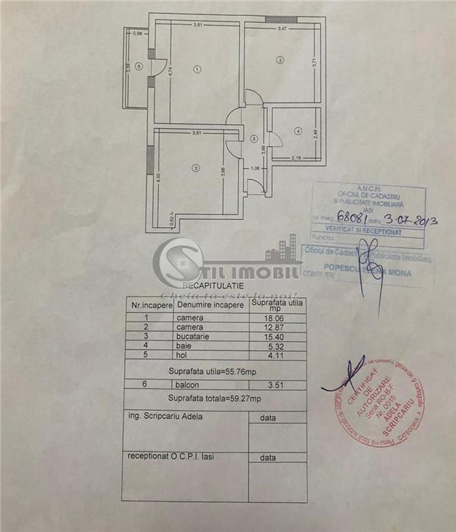 POITIERS, 2 camere,decomandat,mobilat si utilat, 95mp, 53000eur