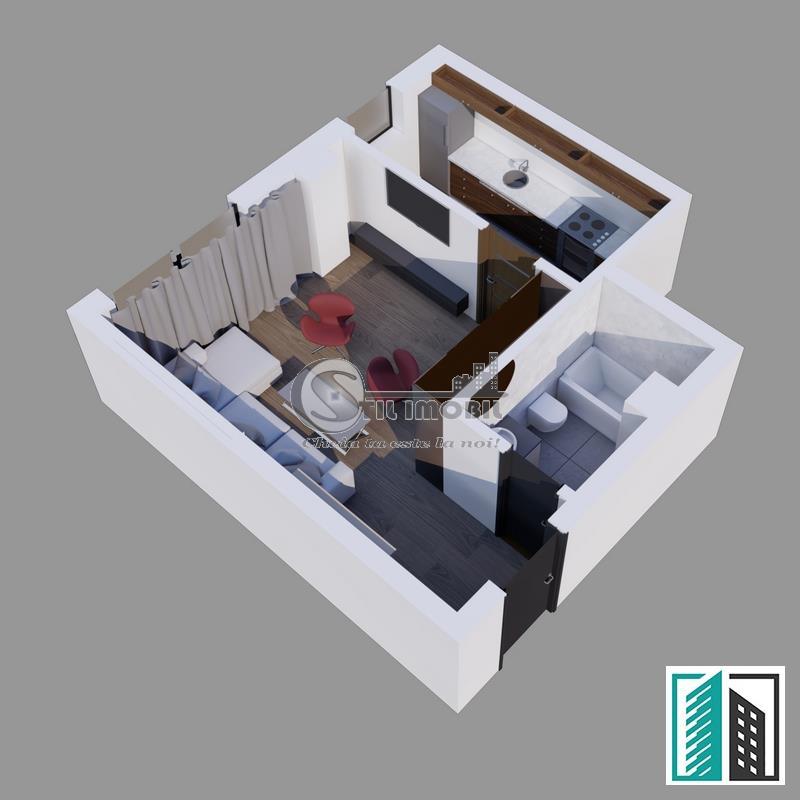 Apartament 1 camera 40 mp Visan- Bellaria Rate la dezvoltator