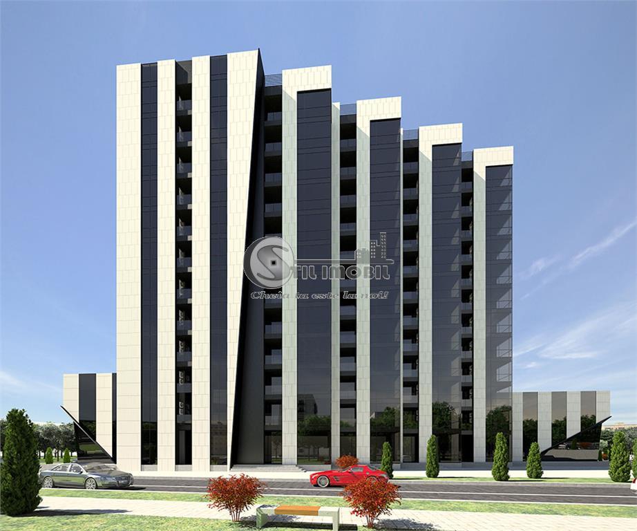 Copou - Apartamente Noi - 3 camere - 2 bai - decomandat