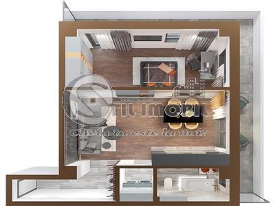 Copou, 2 camere,bloc nou,mutare rapida, 56mp +23mp balcon
