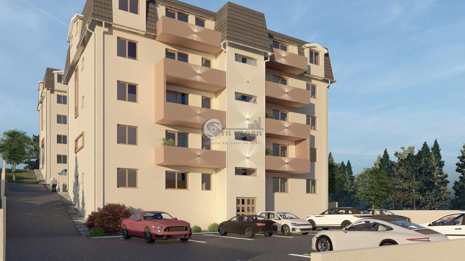 Apartament cu 2 camere decomandat, 52mp, Pacurari Rond Sos Rediu