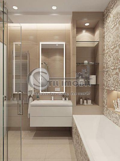 Apartament 3 camere,bloc 2021 Oancea, Tatarasi, 86.3mp
