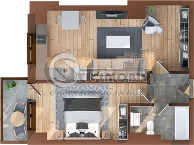 Oferta!Tatarasi-Oancea->2 camere->bloc nou->800m Iulius Mall