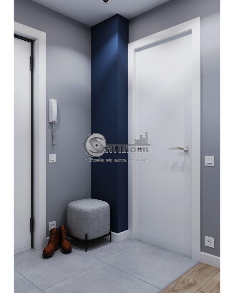 Apartament nou, 1 camera, 39 mp, 35000Euro, Comision 0%, Bucium