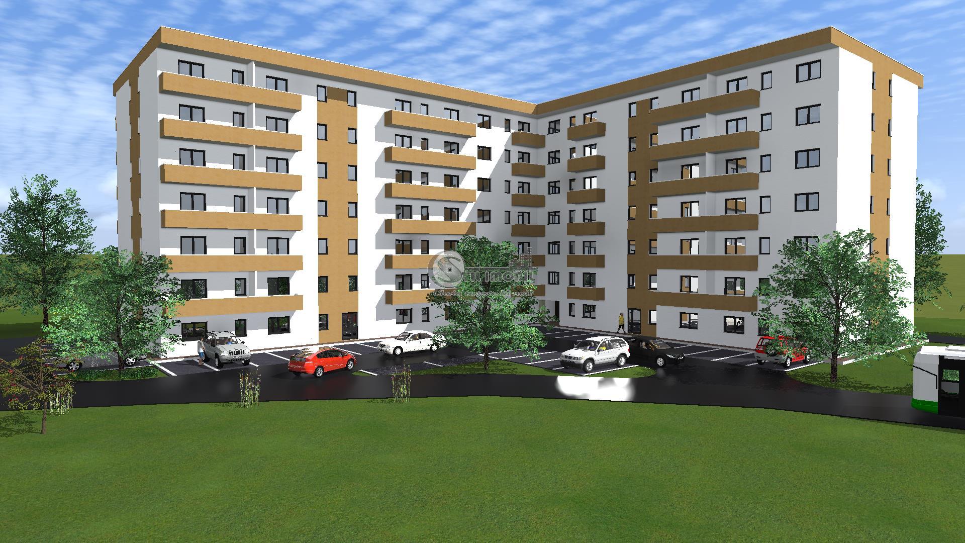 Apartament 1 camera->Bucium-Visan->32mp->26 900euro
