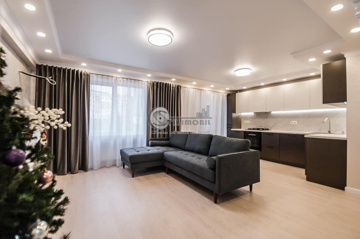 Apartament nou 1 camera 42 mp Pacurari 45500 euro