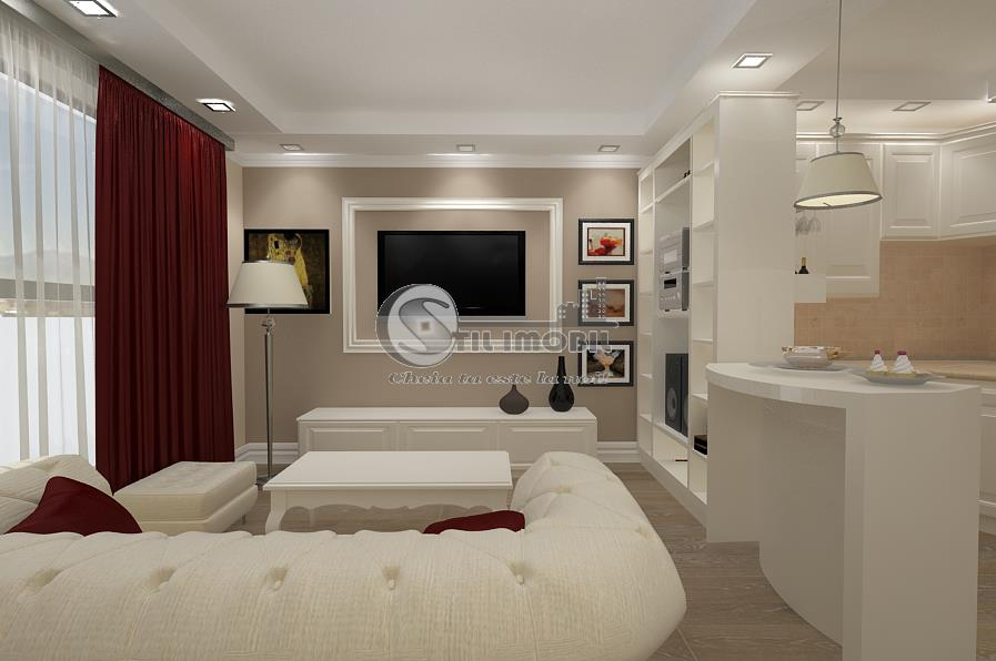 Apartament 3 camere->78mp->Popas Pacurari +loc de parcare