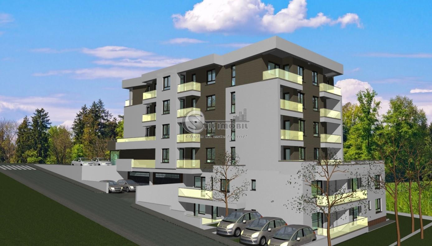 Apartament Nou , Copou Sararie , 2 camere decomandat cu terasa 80m