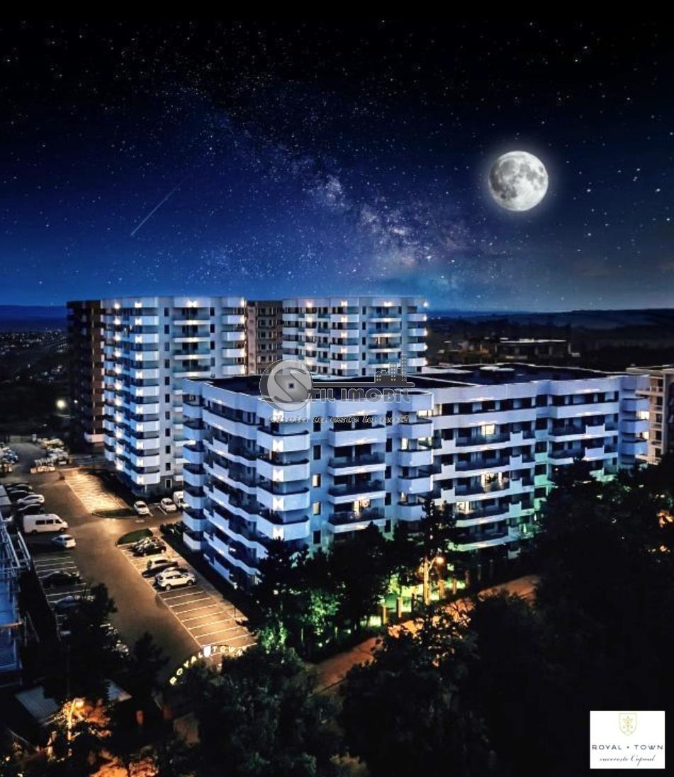 Apartament NOU 2 camere decomandat Copou - Royal Town