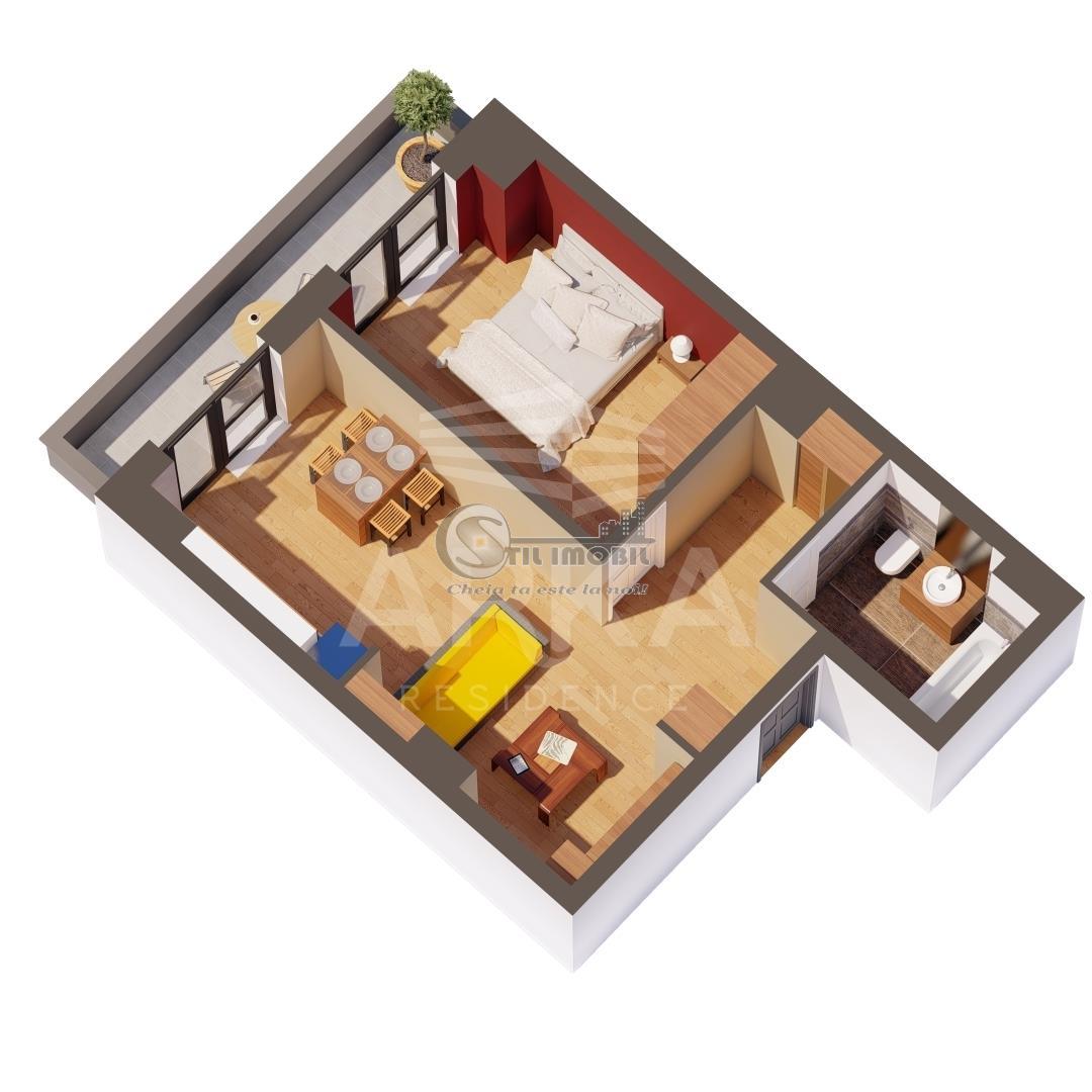 Apartament 2 camere, Gara, 52 mp, 85.300 euro