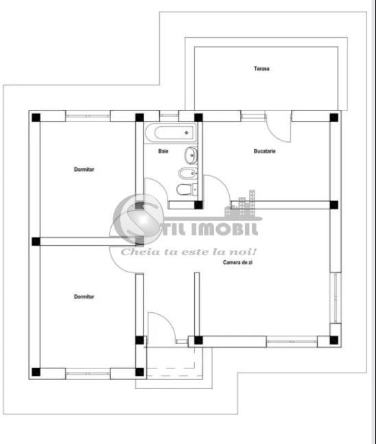 Casa plan parter, 3 camere CUG Lunca Cetatuii
