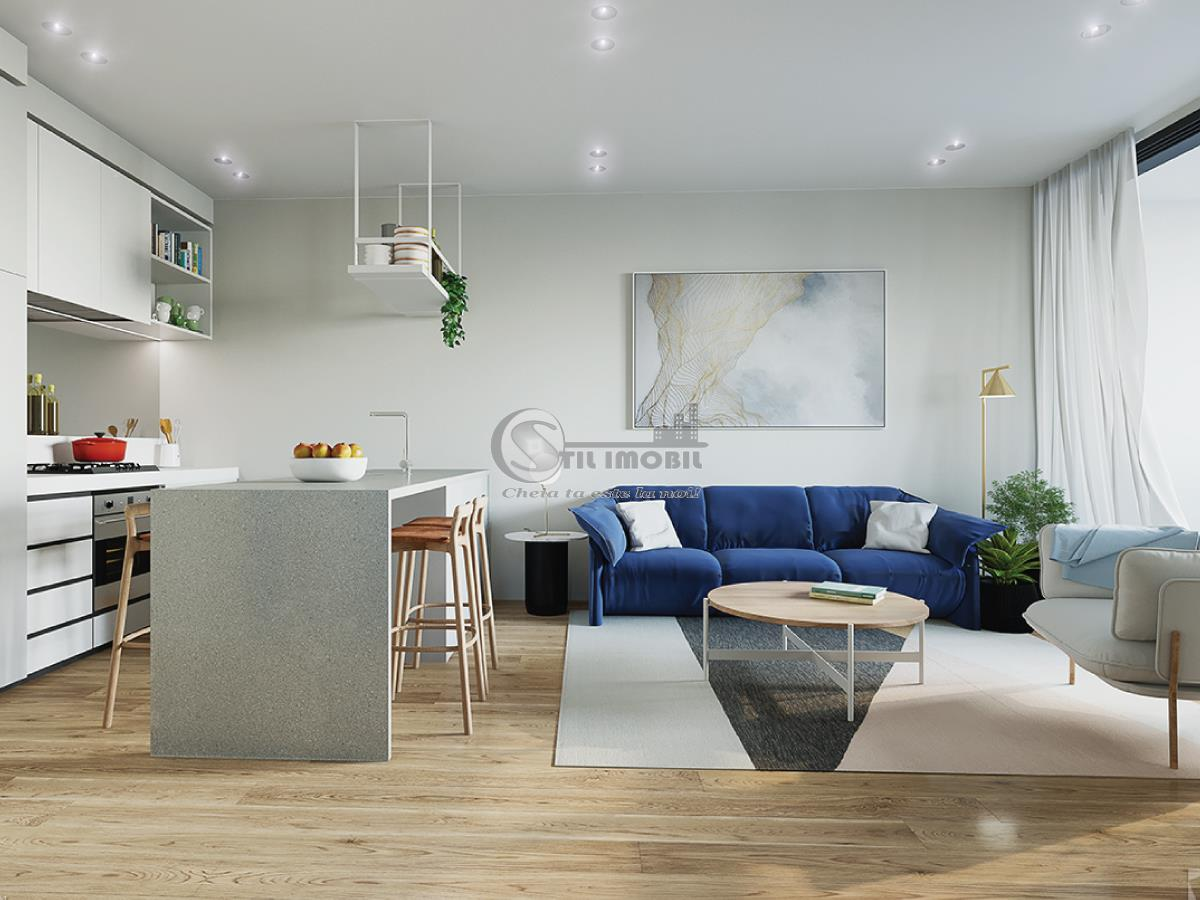 Apartament nou 1 camera 37.18 mp Dacia 48334 euro