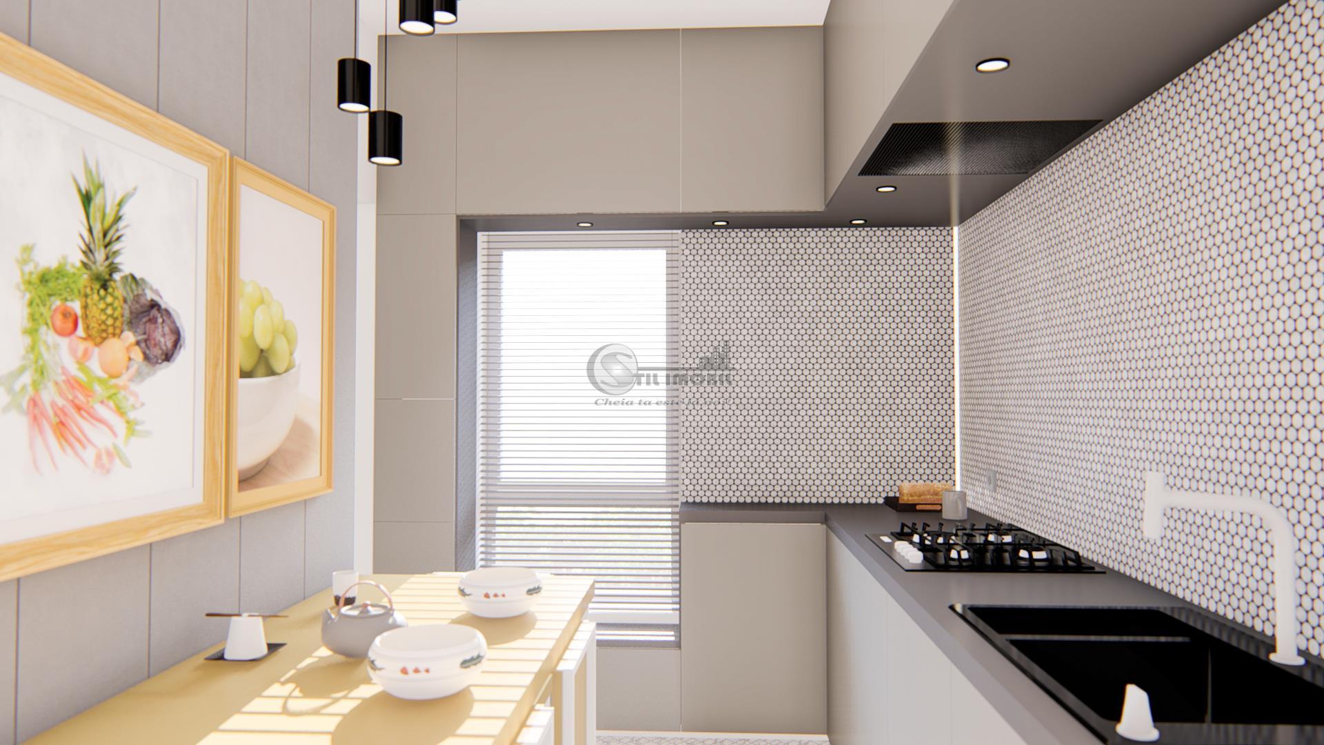 Apartament o camera, decomandat, 43 mp, Bucium, 50.000 euro