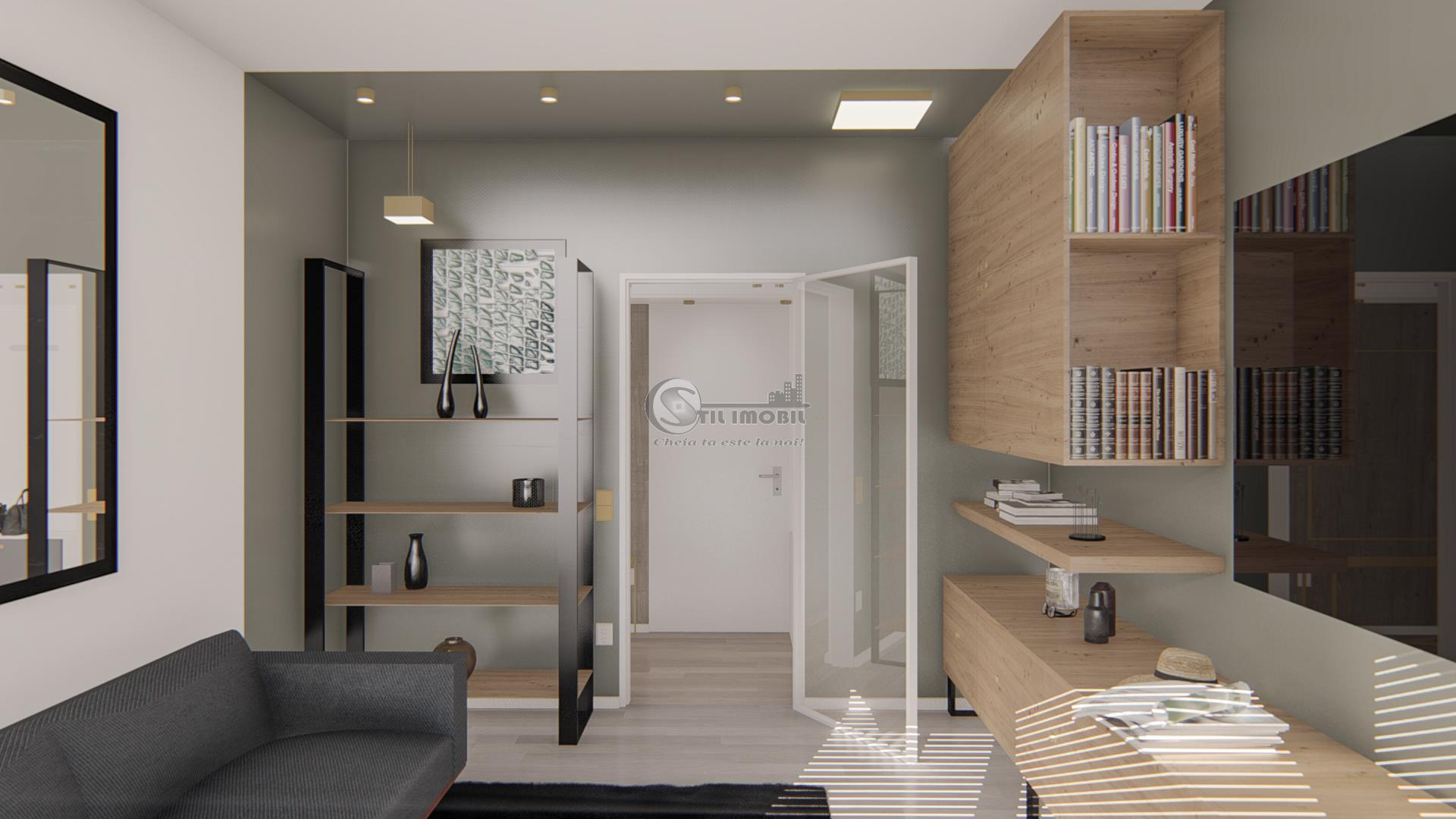 Apartament 2 camere, decomandat, 63 mp, Bucium, 73.500 euro