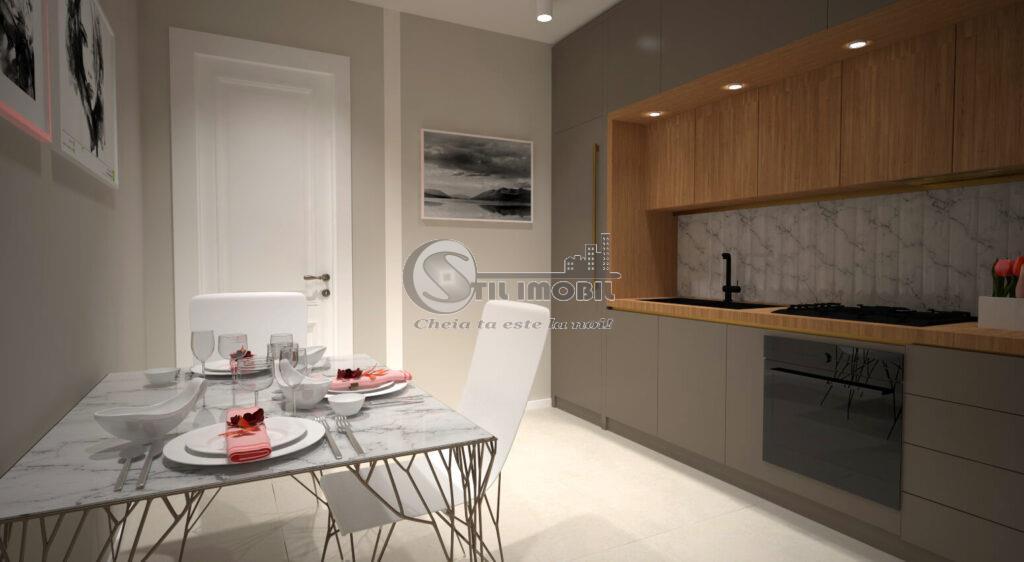 Apartament 2 camere, decomandat, 61 mp, CUG, 57.000 euro